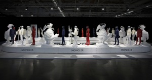 Moncler presents 'Enfant' SS 2014 line at Pitti Bimbo