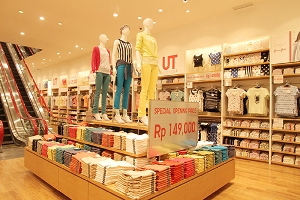 Uniqlo opens first full product line store in Indonesia