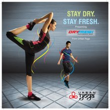 Urban Yoga launches 'Dry fresh' S/S collection