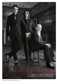 John Varvatos new campaign features country singer Willie