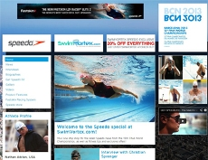 Speedo partners Swimvortex for FINA updates