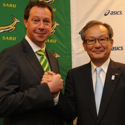 ASICS named as new apparel sponsor for Rugby Union - SARU
