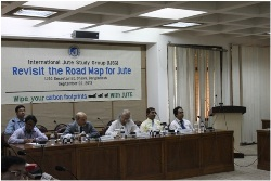 "IJSG conducts workshop on ""Revisit the Roadmap for Jute"""
