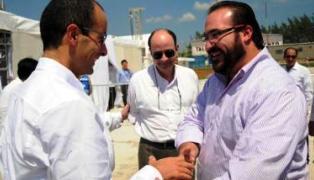 Marcelo Odebrecht (L); Javier Duarte (R)