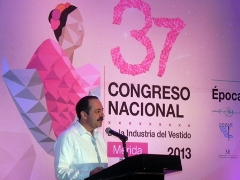 Mr. Sergio Lopez at the conference