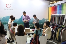 Esquel shows pure cotton goods at Shanghai SpinExpo