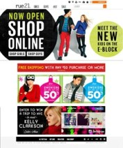 Specialty apparel retailer rue21 launches e-commerce site