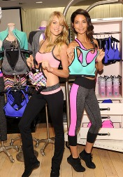 Victoria's Secret unveils sports bras in playful patterns