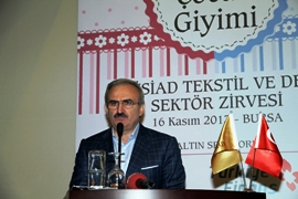 Governor Karaloglu at the summit