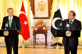 Mr. Erdogan (L) & Mr. Sharif (R)/PID