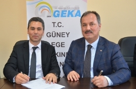 Mr. Alata (L); Mr. Ozer (R)/GEKA