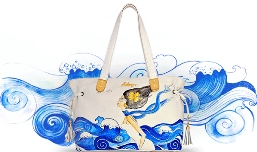 Hidesign unveils limited edition hand-painted bags