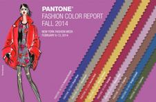 Pantone unveils Fashion Color Report Fall 2014