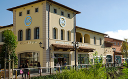 Luxury fashion brands line-up at Barberino Designer Outlet