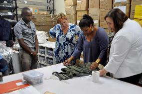 East Africa Trade Hub shows samples at Texworld USA