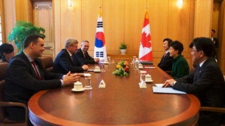 Mr. Harper with Ms. Park Geun-hye
