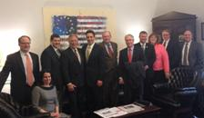 US carpet industry lobbies with Congressional members