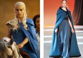 Daenerys Targaryen Vs Giambattista Valli FW 2009/c: Elle