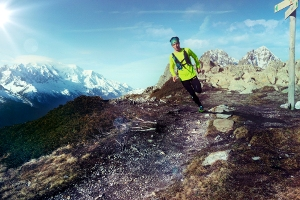 ASICS descends upon Mont Blanc for trail challenge