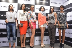 Nargis Fakhri launches new Vero Moda fashion store