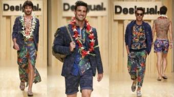 Desigual S/S 15 Men collection at 080 Barcelona Fashion