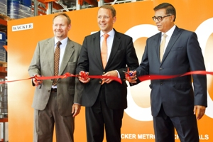 WACKER opens logistics center at Amtala production site