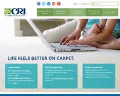 Carpet & Rug Institute launches new redesigned website