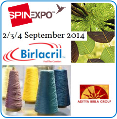 Experience Thai Acrylic's eco-friendly fibres at SPINEXPO