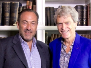 Marc Worth (L) and Sir John Hegarty