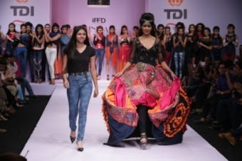 collection by Shivani Singh on final day of IRW