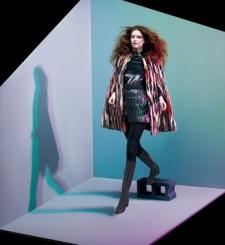 Model in Saint Laurent/c: Neiman Marcus