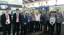 Itema's biggest Turkey client visits its booth at KTM show