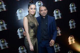 Shraddha Kapoor (L) & Gaurav Gupta