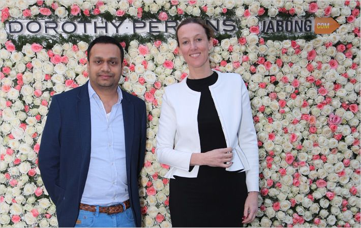 Arun Mohan (L) and Mel Mercer
