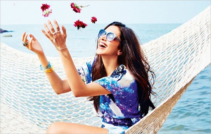 Deepika Padukone stars in new Vogue Eyewear campaign