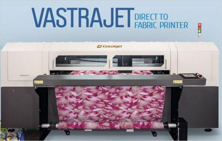 India : Colorjet to show Vastrajet digital printer at Garfab
