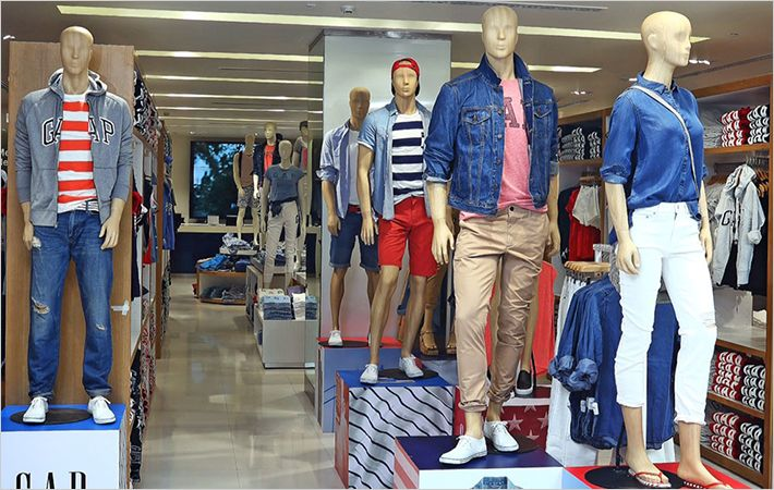 American fashion brand GAP opens shop in Delhi