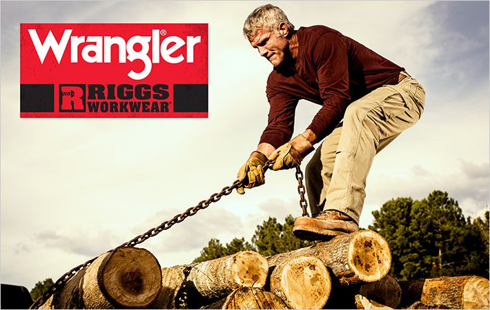 Brett Favre new face of Wrangler Riggs Workwear