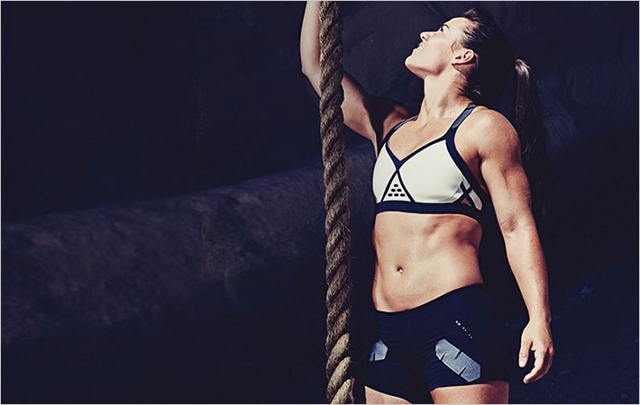 Reebok athlete Camille Bazinet