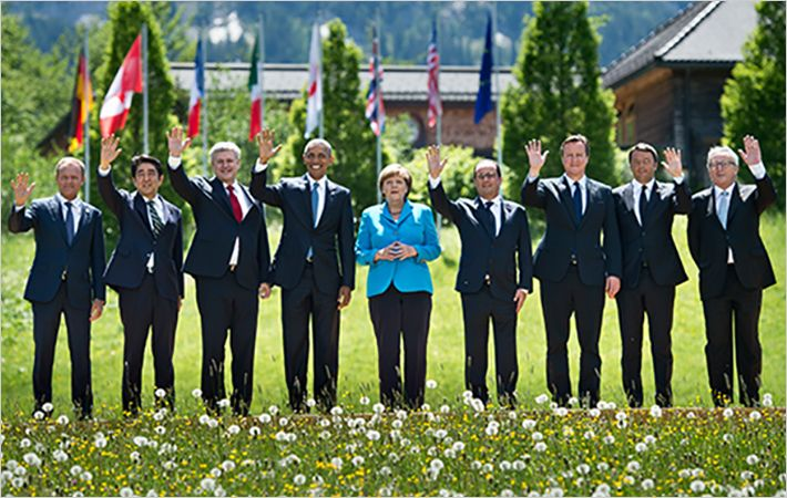 G7 heads of state and government