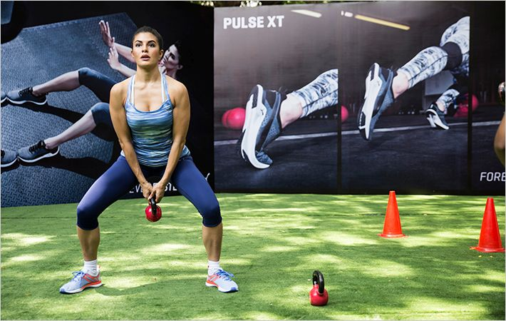 Jacqueline Fernandez at the launch of Pulse XT