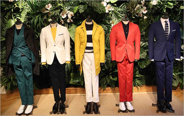Tommy Hilfiger tailored at London Collections: Men