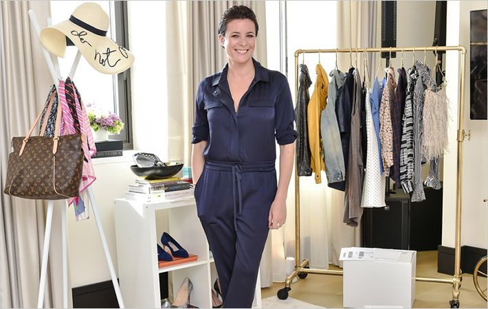 Garance Dore at eBay Closet Cleanse event