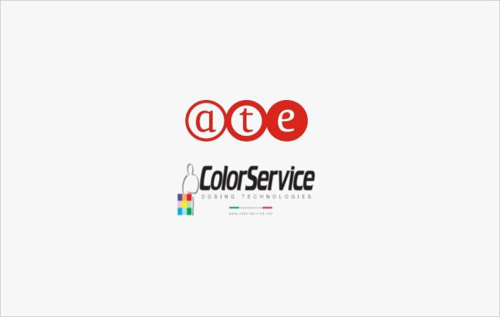 A.T.E. partners Color Service for dyes dispensing systems