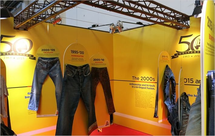Martelli booth at Denim Première Vision