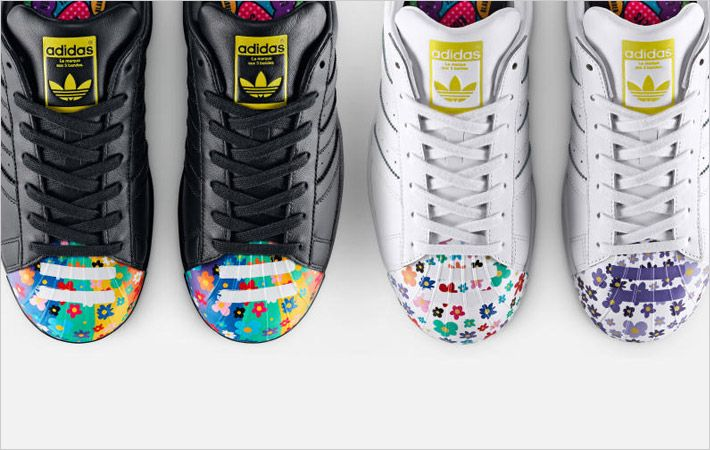 Adidas relaunches art work collection -Supershell
