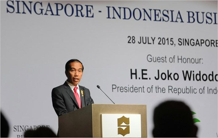 Widodo speaking at SBF/Courtesy: SBF