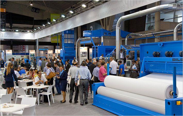 Dilo booth - ITMA 2011, Barcelona