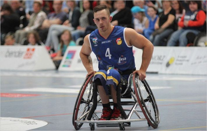 Hohenstein helps optimise wheelchair basketball clothing