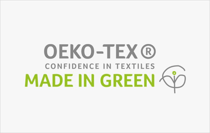 Loftex China towels bag 'Made in Green' Oeko-Tex label